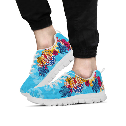 French Polynesia Sneakers - Tropical Style - BN01
