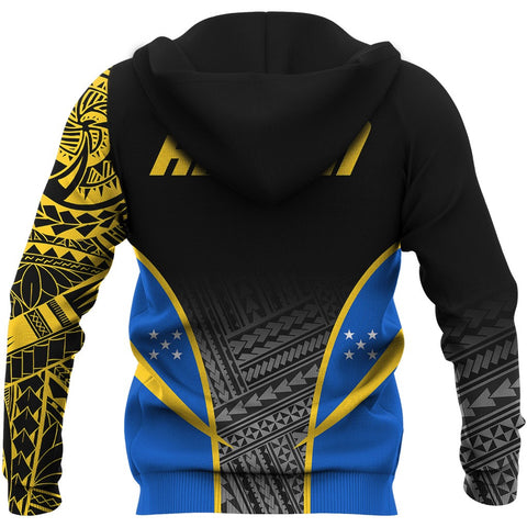 Solomon Active All Over Print  Hoodie A7