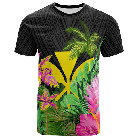 Hawaii T-Shirt - Hibiscus Coconut