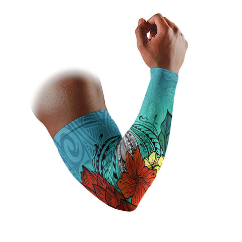 American Samoa Arm Sleeve (Set of 2) - Tropical Flowers Style - BN01