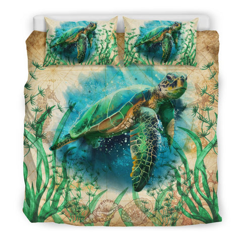 Image of Sea Turtle Bedding Set K4