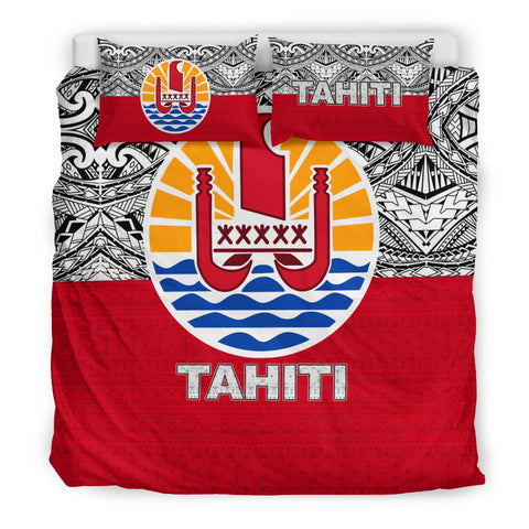 Image of Tahiti Bedding Set - Polynesian Design King Size