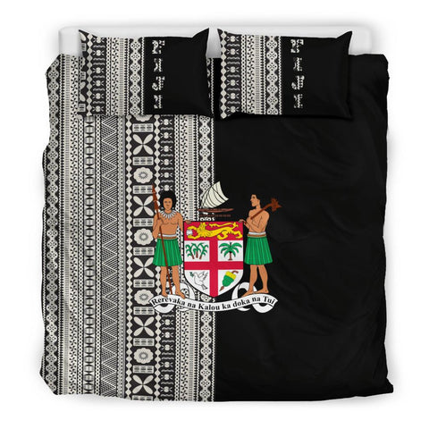 Image of Fiji Bedding Set Tapa Half Th1