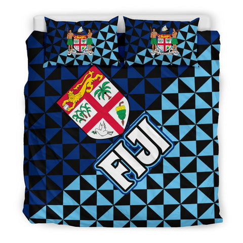 Image of Fiji Polynesian Bedding Sets Coat Of Arms Th5