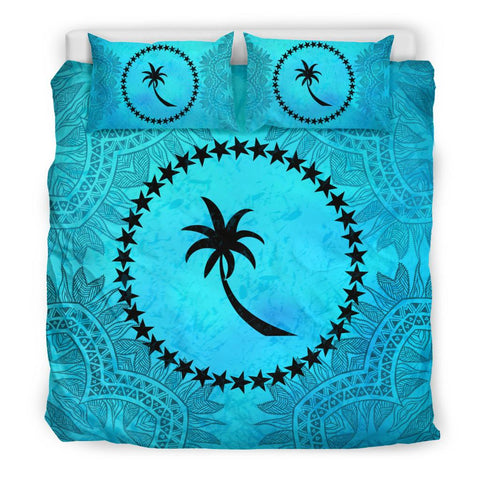 Chuuk Turquoise Bedding Set Twin