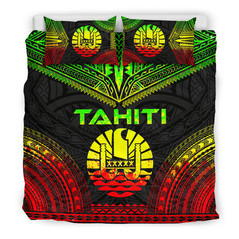 Tahiti Polynesian Chief Bedding Set - Reggae Version - Bn10