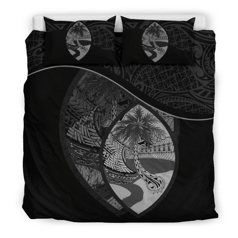 Guam Bedding Set Black A24