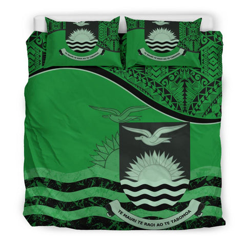 Kiribati Bedding Set Green King