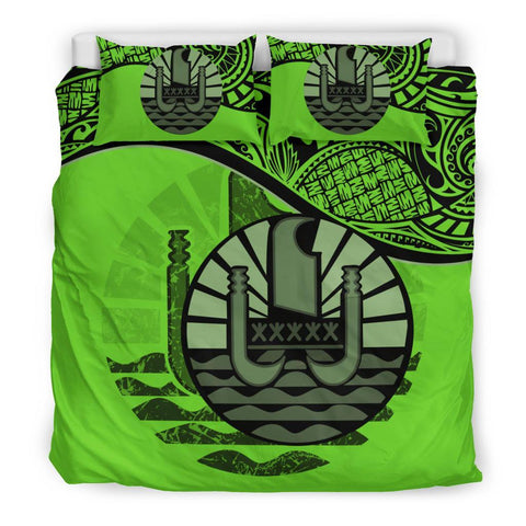 Tahiti Bedding Set Green A24