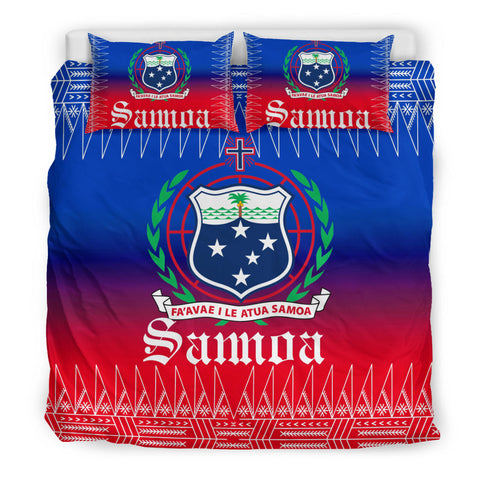 Image of Samoa Coat of Arms Bedding Set - BN12