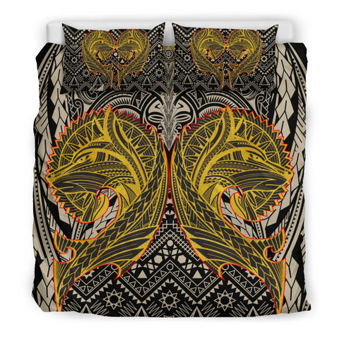 Polynesian Bedding Set - Wolf Polynesian Patterns - BN17