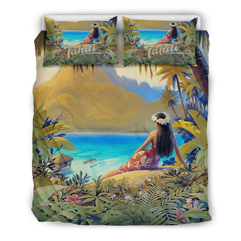French Polynesia Tahiti Bedding Set