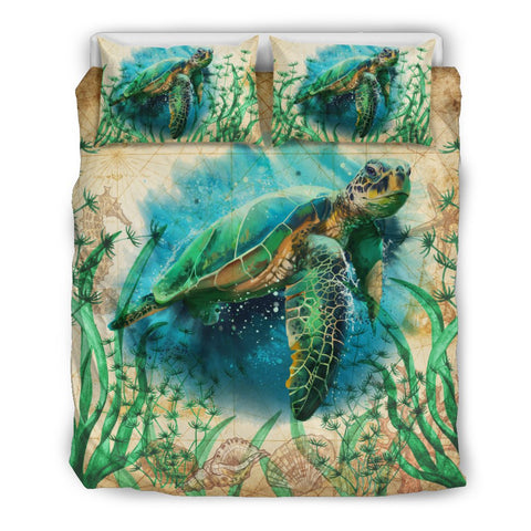 Sea Turtle Bedding Set K4