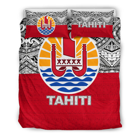 Tahiti Bedding Set - Polynesian Design Queen Size