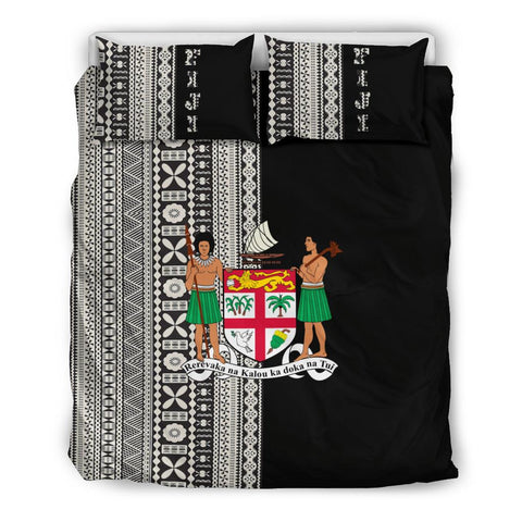 Fiji Bedding Set Tapa Half