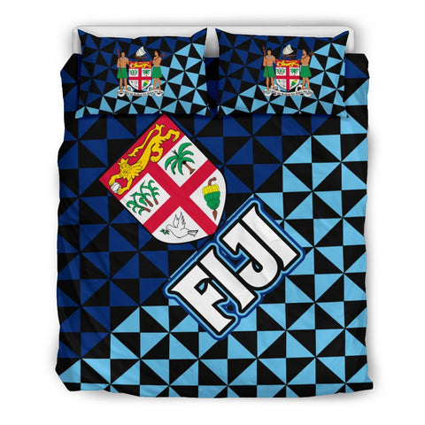 Image of Fiji Polynesian Bedding Sets Coat Of Arms