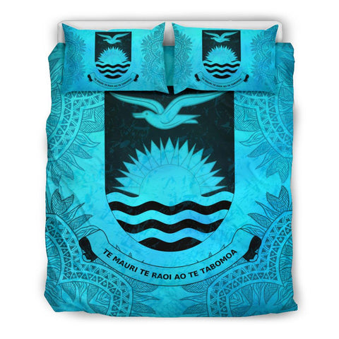 Kiribati Turquoise Bedding Set King