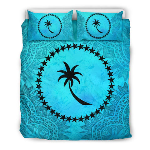 Chuuk Turquoise Bedding Set King