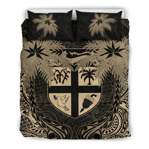 Fiji Coconut Bedding Set (Duvet Cover) Queen