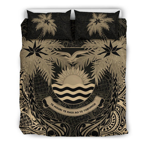 Kiribati Coconut Bedding Set (Duvet Cover) Queen