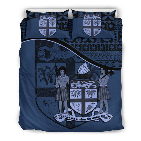 Image of Fiji Bedding Set Dark Blue A24