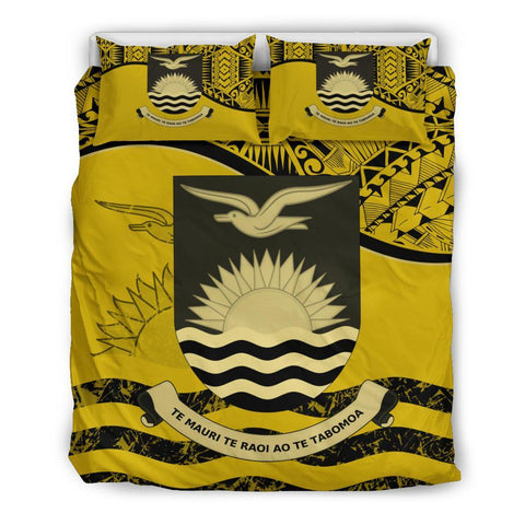 Kiribati Bedding Set Yellow Queen
