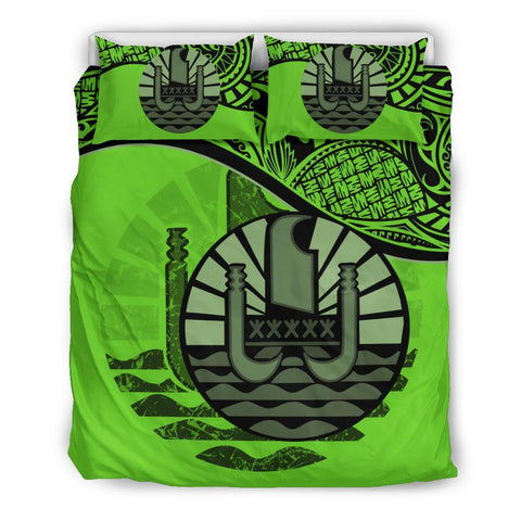 Image of Tahiti Bedding Set Green A24