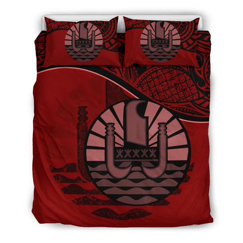 Tahiti Bedding Set Red A24