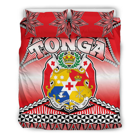 Image of Tonga Coat Of Arms Bedding Set - BN12