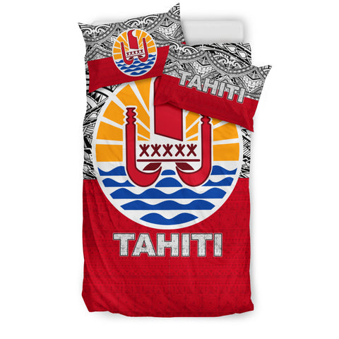 Image of Tahiti Bedding Set - Polynesian Design Twin Size