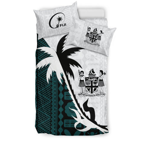 Fiji Coconut Tree Bedding Set - Coat Of Arms K4