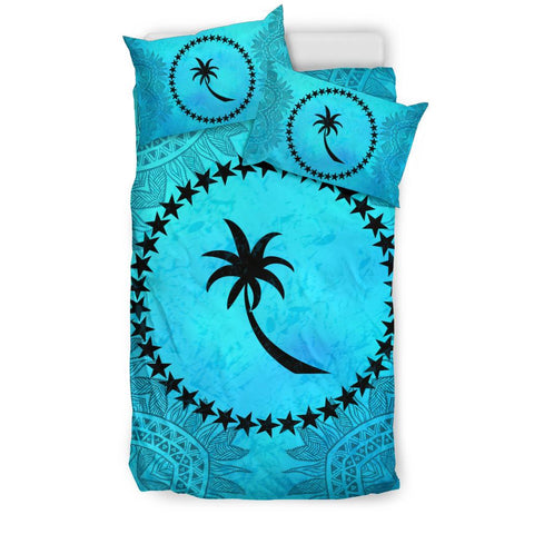 Chuuk Turquoise Bedding Set Queen