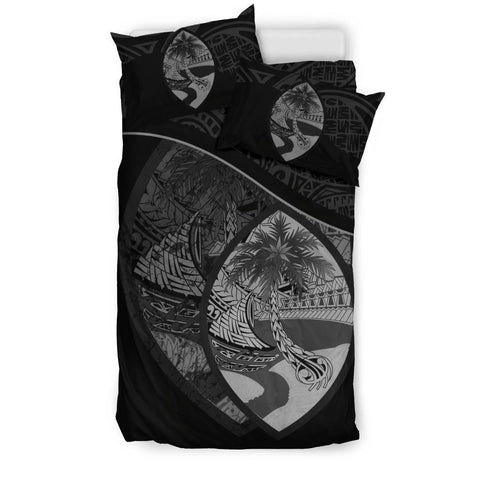 Image of Guam Bedding Set Black A24