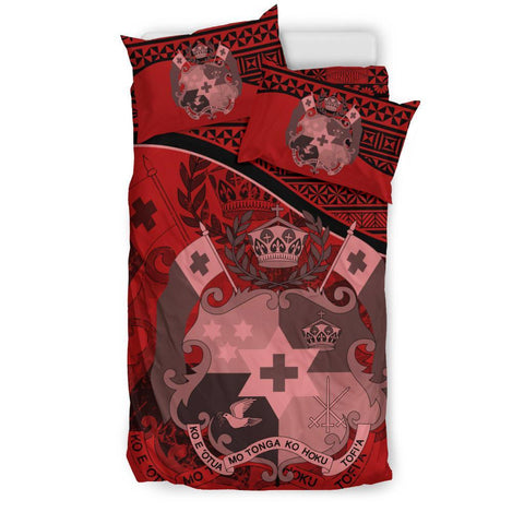 Tonga Bedding Set Red A24