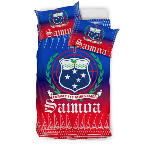 Samoa Coat of Arms Bedding Set - BN12