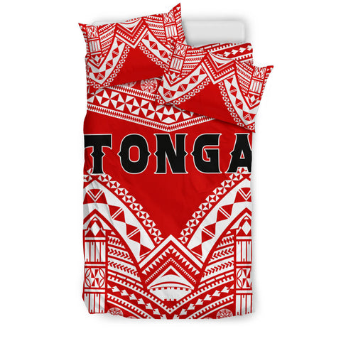Tonga Polynesian Tribal Pattern Bedding Set - BN12