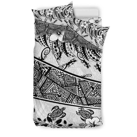 Polynesian Bedding Set - Lizard And Turtle - BN20