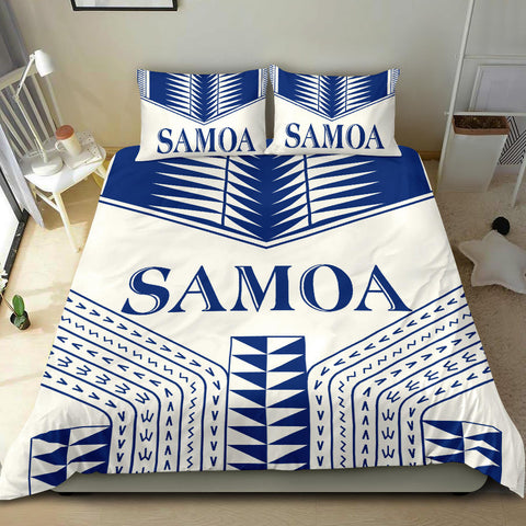 Manu Samoa Bedding Set - White Version -  BN12