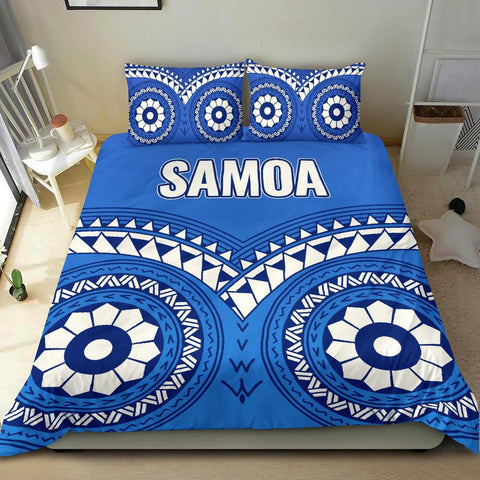 Samoa Tribal Pattern Bedding Set - BN12