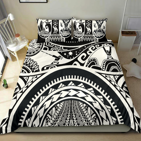 Polynesian Bedding set - Maui Tattoo - BN17