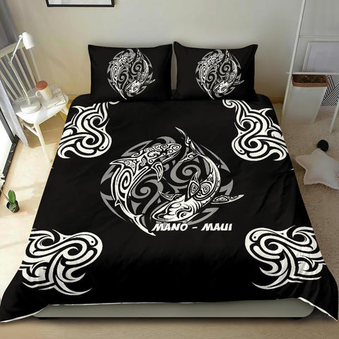 Hawaii Bedding Set - Hawaiian Shark Tatoo - BN20