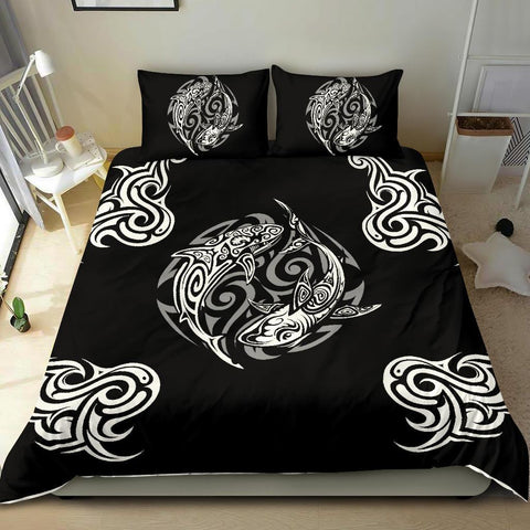 Polynesian Bedding Set - Polynesian Shark Tatoo - BN20