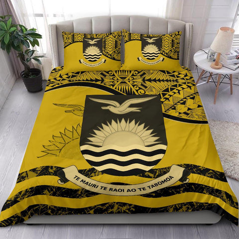 Kiribati Bedding Set Yellow A24