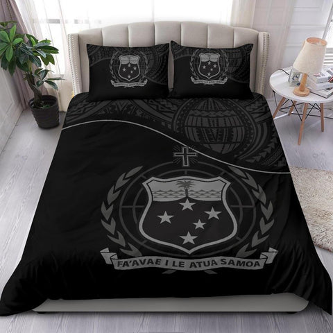 Samoa Bedding Set Black A24