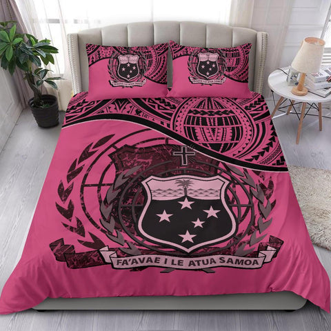 Image of Samoa Bedding Set Pink A24