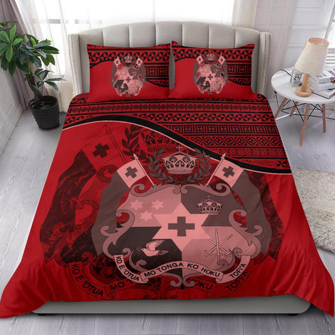 Image of Tonga Bedding Set Red A24