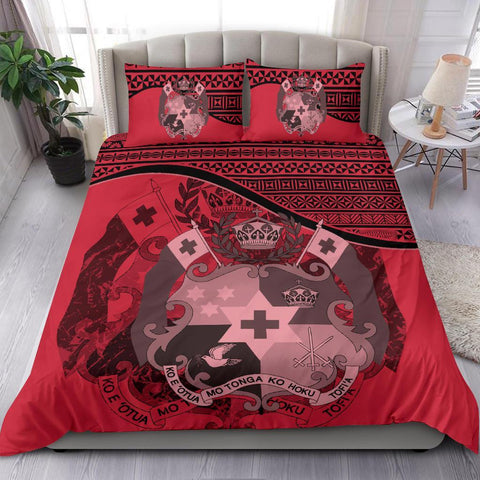 Image of Tonga Bedding Set Pink A24