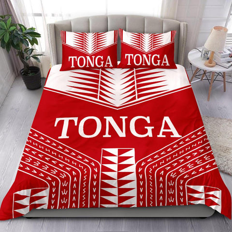 Tonga Coat Of Arms Bedding Set
