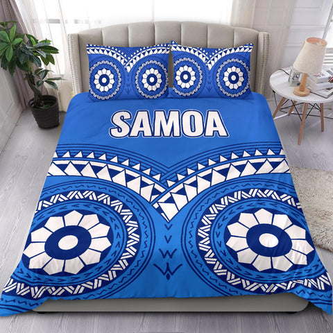 Image of Samoa Tribal Pattern Bedding Set - BN12