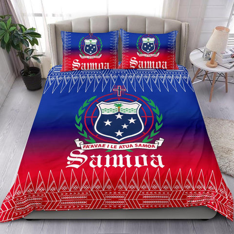 Samoa Coat of Arms Bedding Set